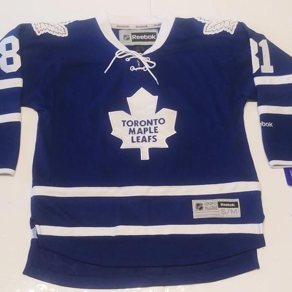 Boy's Toronto Maple Leafs Jersey.